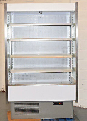 Integral Multi-deck Display Milk Dairy Drinks Cans Cooler Fridge Commercial