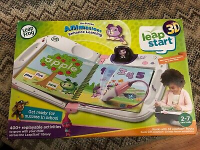 LeapFrog LeapStart 3D Interactive Learning System Pink 2-7yrs NIOB