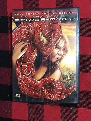 Spider Man 2 Full Screen Special Edition DVD