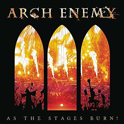 Arch Enemy Cd - As The Stages Burn [Cd/dvd Deluxe Edition](2017) - New Unopened