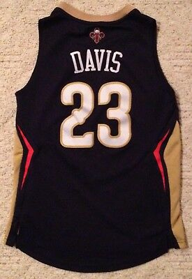Stitched Anthony Davis New Orleans Pelicans NBA Basketball Adidas Jersey  Youth S 6b5e71a70