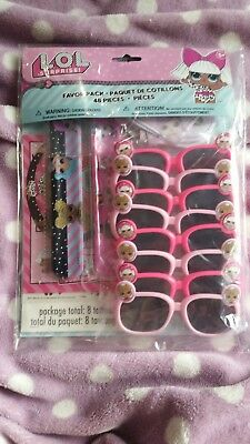 ☆☆☆ ☆☆☆ LOL Surprise Doll 7 Pack of Lip Gloss VHTF New