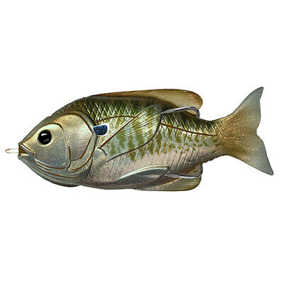 "LiveTarget Lures Sunfish Hollow Body Freshwater, 4"" Length, 3/4 oz, Topwater"