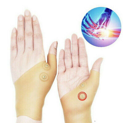 Healthcare Magnetic Therapy Wrist Silicone Glove Support Hand Pain Relief AERT