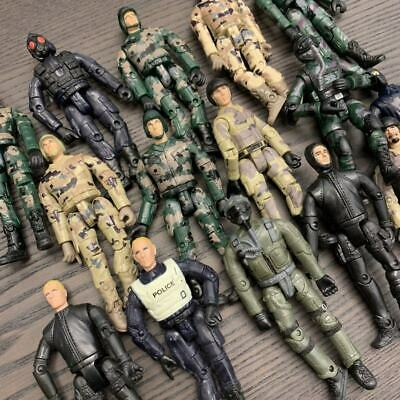 """random 5Pcs GI Joe military The Ultimate Soldier WWII 3.75"""" action figure toy"""