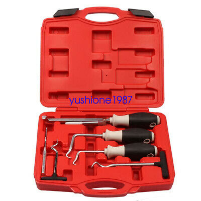 6Pcs Hand Tools O-ring and Oil Seal Puller Removal Tool Set Hose Removal Kit