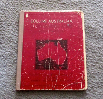 Collins Australian Clear School Atlas Published 1940
