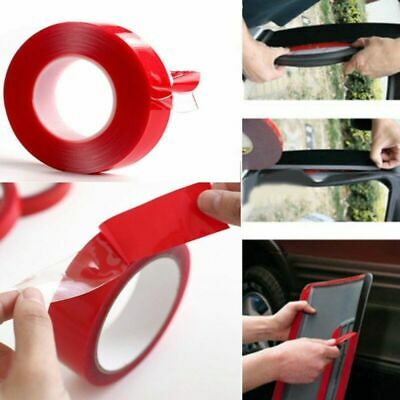 Car Auto Silicone Double Sided Strong Adhesive Tape Sticker Glue Rolls 3m x10mm;