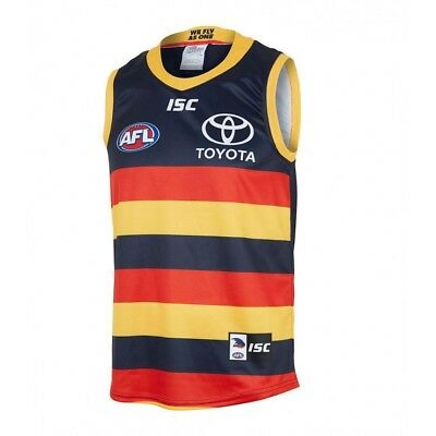 Isc Adelaide Crows Home Guernsey.  2018 New with tags.