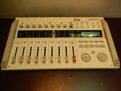 Zoom R16 16-track Digital Multitrack Portable Recorder