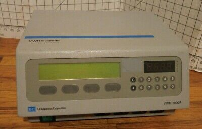 VWR Scientific Electrophoresis Programmable Power Supply Model 3000P