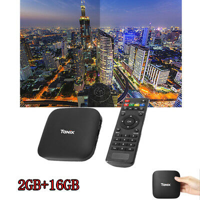 Tanix TX2 - R2 TV Box Android 6.0 H.265 WiFi 100Mbps 2GB 16GB 4K & 3D Moive
