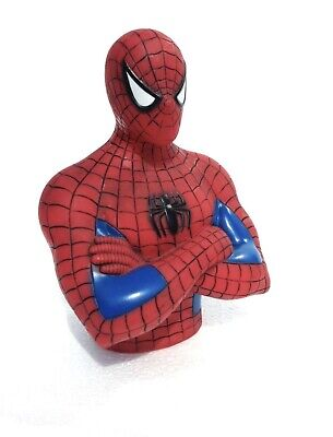 Marvel Spiderman (Peter Parker Bust) Coin Bank BRAND NEW/FREE SHIPPING