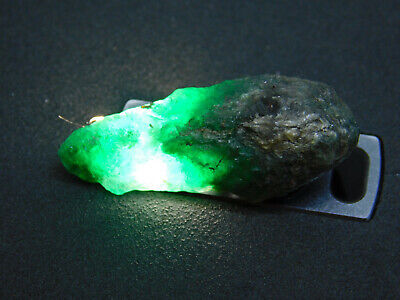 100% natural 20.25Cts.Untreated earth mined Colombian Loose Emerald rough