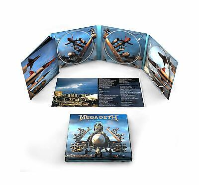MEGADETH 'WARHEADS ON FOREHEADS' (Best Of) 3 CD Set (2019)