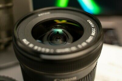 Canon EF-S 10-18mm f/4.5-5.6 IS STM Wide Angle Zoom Lens