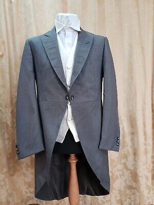Vintage Grey Tailcoat  All sizes available - Good condition