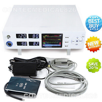 CMS5000 ICU Patient Monitor Vital Signs Monitor NIBP SPO2 Pulse Rate CCU Monitor
