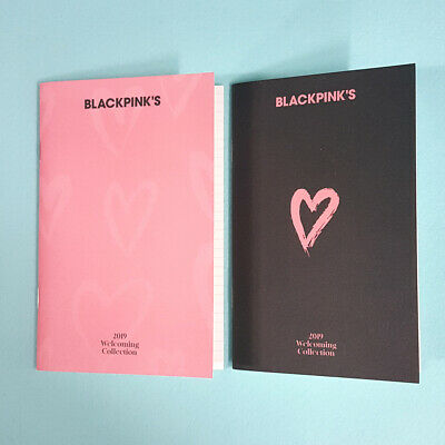 BlackPink's 2019 Welcoming Collection Official To Do List + Mini Note Set