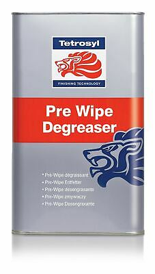 Tetrosyl Pre-Wipe Degreaser Cleaner Silicone Remover Polishing Oil Grease 5L