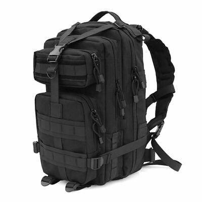 45L Heavy Duty Rucksack Military Assault Tactical Backpack Waterproof Army Bag