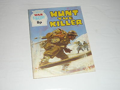 War Picture Library Comic Magazine No1034 Hunt the Killer Tunisia A6M Zero WW2