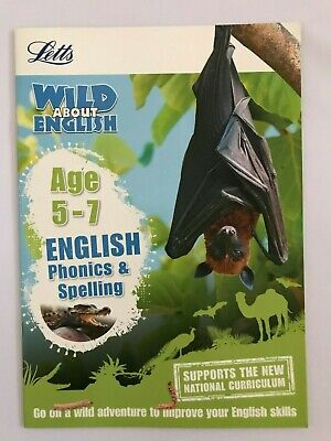Letts Wild About English Ages 5-7 KS1 NEW!!!!