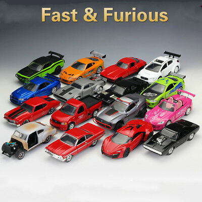 JADA 1:32 The Fast and Furious Diecast Car Model (With Original Colour Box)
