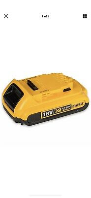 NEW Genuine DeWalt 18v 2.0Ah XR Li-ion/Lithium-Ion Cordless Slide Battery DCB183