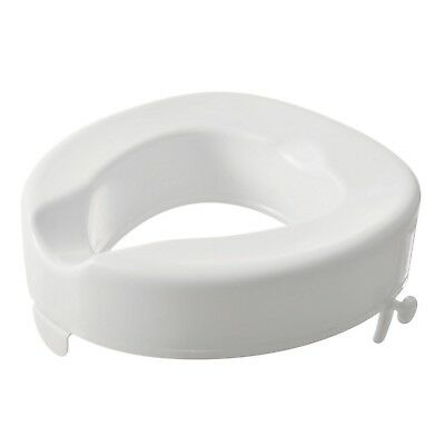 4'' Serenity Bariatric Raised Toilet Seat Raiser WITHOUT Lid Slight Seconds