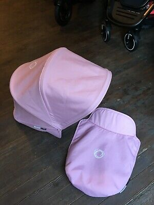 Bugaboo Donkey Extendable Hood And Apron Pink