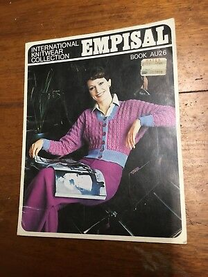 Empisal   Book 26 Machine Knitting Jumpers Cardigans Tops vintage Women's