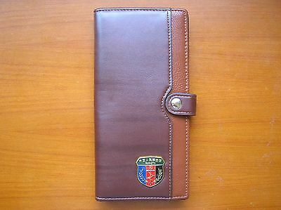 07's series China PLA Special Forces Badge Officer Genuine Leather Wallet,C