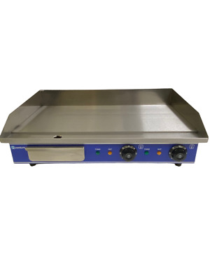 Quantum CE ® 65cm Electric Table Top Double Griddle 2 x 2kW Commercial KSL-G65