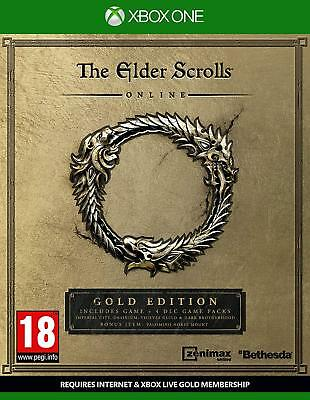 The Elder Scrolls Online Édition or (Xbox One) Neuf Scellé