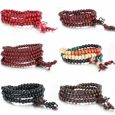 Wrap Buddhist new Women Jewelry gift Tibetan Bracelet/Necklace Men Worry Beads