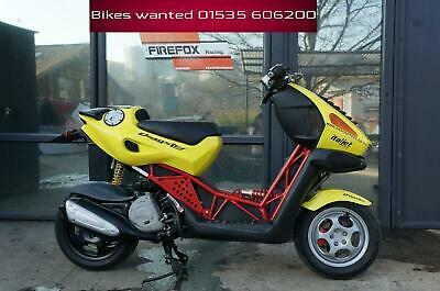 Italjet Dragster D125LC 2 Stroke Very rare bike done only 5310 miles