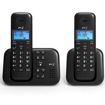 BT 3960 Twin Digital Cordless Phone with Answer Machine and Nuisance Call Blocke