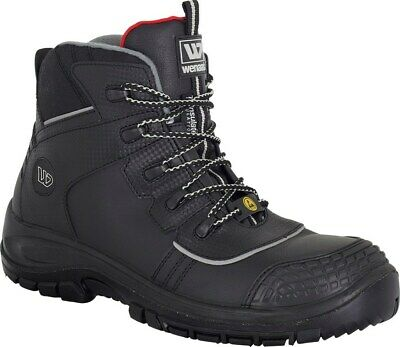ba2eaf54eae0c9 Wenaas S3 ESD Sicherheitsschuhe Arbeitsschuhe Stiefel Boots 40 Boots 78035