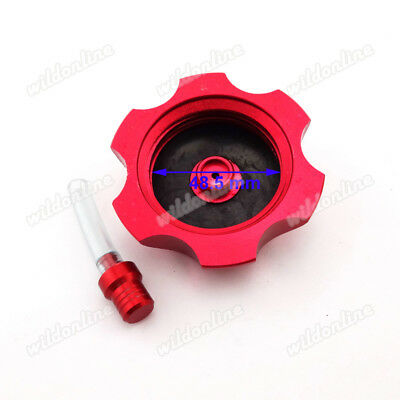 Gas Fuel Tank Cap Cover For Chinese 110cc-160cc Dirt Pit Bike CRF 50 70 KLX TTR