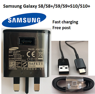 100%Genuine Original Samsung Galaxy Fast Charger  S10 S9 S9+S8 S8+ A3& A5(2017)