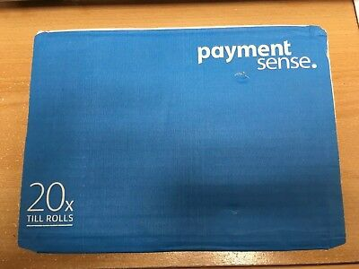 20 Till Rolls Card Machine Paymentsense Brand New.