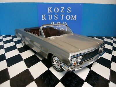AMT 1963 Chevrolet Impala SS  convertible built Stock and detailed