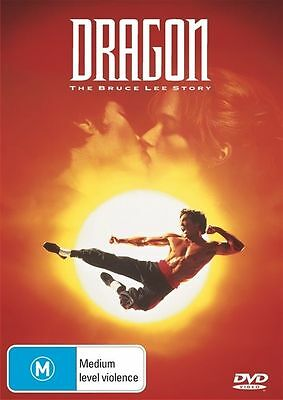 Dragon - The Bruce Lee Story (DVD, 2013) (Comes in Plastic Sleeve Only)