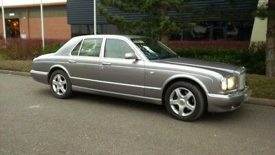 2001 Silver Bentley Arnage 6.8 T 4dr Red Label only 68,500 miles