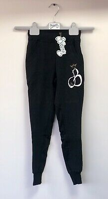 Bossy Black Jogger Age 7-9 Years New With Tags Unisex Boys Girls