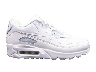 huge selection of 5767b 46ea2 Nike Air Max 90 Leather Total White 302519-113