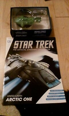 Star Trek Official Starship Collection united earth Arctic one