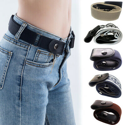 Woman Buckle-free Valentine's Day Gift Waist Belt Casual Invisible Elastic