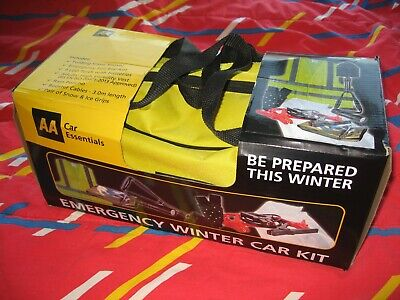 AA Emergency Winter Car Kit - 7 Piece Set From The AA Car Essentials Range